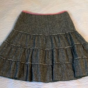 Vintage American Eagle wool blend skirt